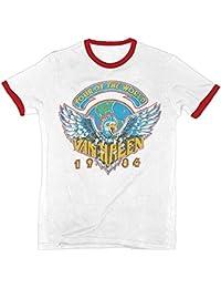 Van Halen 1984 Tour Lightweight Men's Ringer T-Shirt