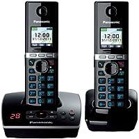 Panasonic  KX-TG8062EB Twin Colour DECT Phone Set with Answer Machine