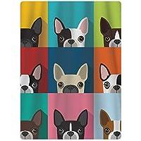 pants hats Cartoon Boston Terriers Bulldog Youth Quick-Drying Pool Beach Towel Travel Bath Towel
