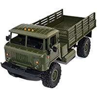 SODIAL WPL B-24 1: 16 RTR 2.4G RC Crawler Truck Car Remote Control Kids Toy Car (ArmyGreen) - Compare prices on radiocontrollers.eu