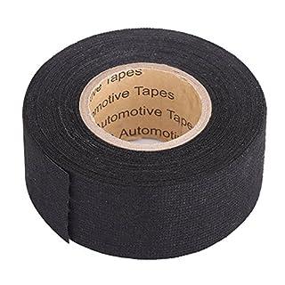 Qiilu MultiPurpose Car Self Adhesive Anti Squeak Rattle Felt Automotive Wiring Harness Tape(9mm*15m)