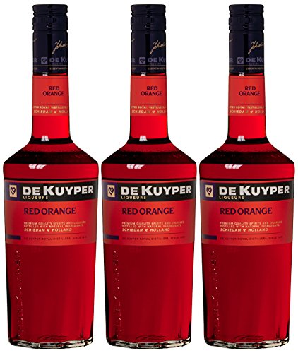 De Kuyper Red Orange Likör (3 x 0.7 l)