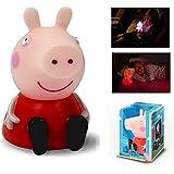 Peppa Pig Colour Changing Illumi-Mate Childrens Kids Bedroom Night Light
