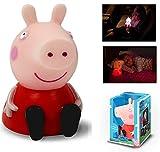 Peppa Pig Nachtlicht mit Farbwechsel für Kinderzimmer