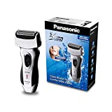 Produkt-Bild: Panasonic Rasierapparat ES-RL21 mit schnellem 3-fach Scherkopf, elektrischer Rasierer für Herren, für die Nass- und Trockenrasur, bequem & zeitsparend
