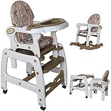 Seelux® Chaise Haute de Bébé pour Enfants 3 en 1
