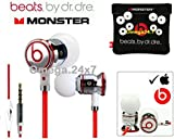 BEATS BY DRE Chrome Monster In-Ear Headphone with Case - White