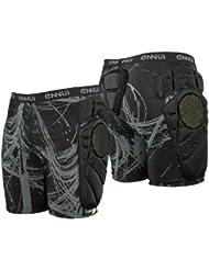 Ennui Schutzhose Crash Pad - Pantalones corto con amortiguación, color negro