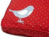 Molly Mutt Dog Bed Designer Dog Duvets, 100% cotton, Pattern Name: Bird on a Wire, Size: Medium