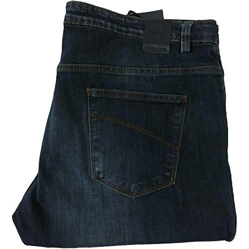 Jeans Armata di mare 0873 uomo - Pantalone 5 TK ADM 98% cotone 2% elastan, lavaggio medio (US 42 IT 56)