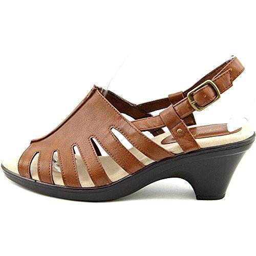 Easy Street Kacia Femmes Cuir Sandale Tan