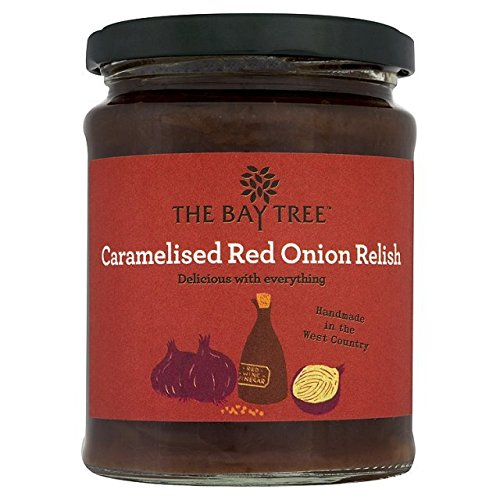 Das Bay Tree Relish karamellisierten roten Zwiebeln 310g