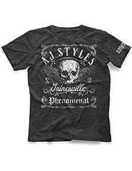 T-Shirt AJ Styles Vintage Offiziell Bis 5XL !