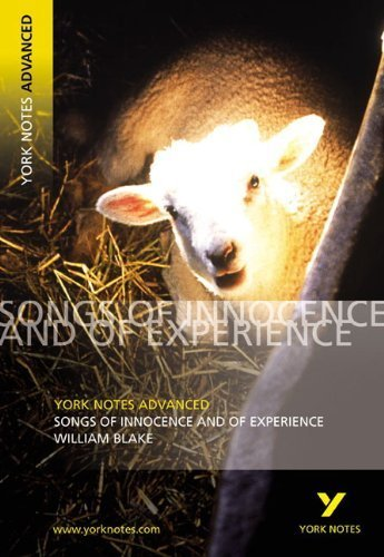 """York Notes on William Blake's """"Songs of Innocence and of Experience"""" (York Notes Advanced) by Punter, David (2003) Paperback"""