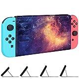 Fintie H�lle f�r Nintendo Switch - Ultrad�nn Schutzh�lle Tasche Magnetisch Case mit Standfunktion f�r Nintendo Switch 2017 (Z -Galaxie) Bild