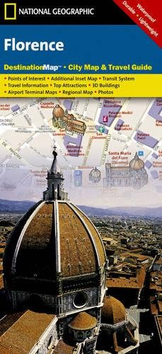 Florence: Destination City Maps (National Geographic Destination Map)