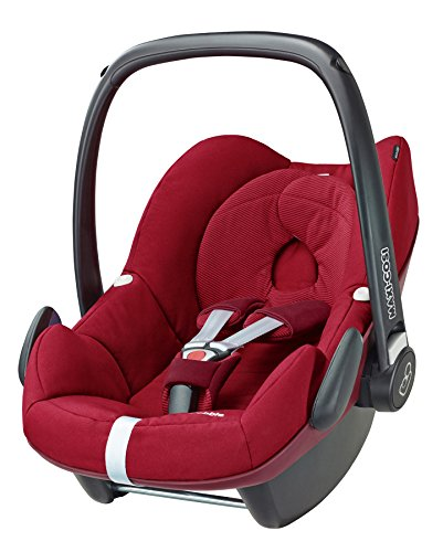 Maxi-Cosi Pebble, Babyschale Gruppe 0+ (0-13 kg), robin red, ohne Isofix-Station