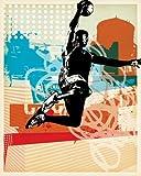 eBook Gratis da Scaricare Wheatpaste Art Collective Dunk City su tela artistica di pasta Face 24 da 76 2 cm (PDF,EPUB,MOBI) Online Italiano