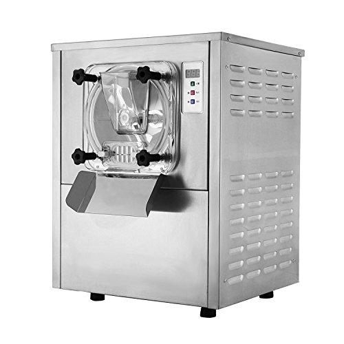 Oldfe 1400w macchina del gelato professionale 20l/h gelatiera autorefrigerante in acciaio inox 3000rpm ice crean maker per gelateria o bar