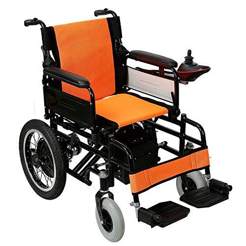 Silla de ruedas eléctrica plegable Scooter ligero for discapacitados de edad avanzada...