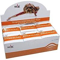 NASARA Kinesiologie Tape kinesiologische Tapes * orange * 5m x 50mm * Spenderbox (6er VE Umkarton) preisvergleich bei billige-tabletten.eu