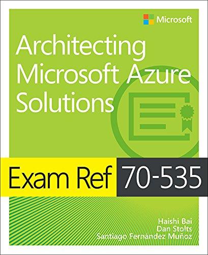 Exam Ref 70-534 Architecting Micros
