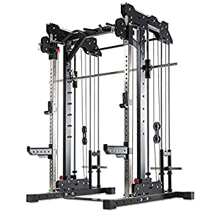 Barbarian-Line Smith Cable Rack – Plate Load Multipresse – Duo-Zugapparat