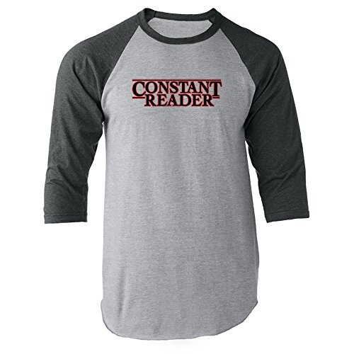 Pop Threads Constant Reader Raglan Jersey T-Shirt by