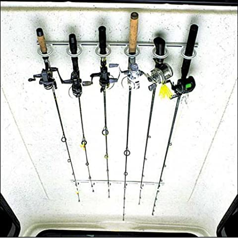 DU-BRO Fishing Trac-A-Rod Storage System, 0.6m, Silver/White by DU-BRO Fishing