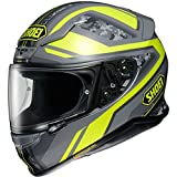 Shoei NXR Parameter Motorcycle Helmet XL Yellow Grey (TC-3)