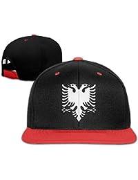 0af0bda4fdd yiyuanyuantu Albanian Eagle Adjustable Unisex Hip Hop Hat Stylish Flat Hat  for Children One Size