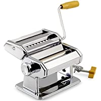 Gr8 Home Pasta Maker Kitchen Tool Spaghetti Roller Lasagne Tagliatelle Cutter Stainless Steel Machine Manual Gadget