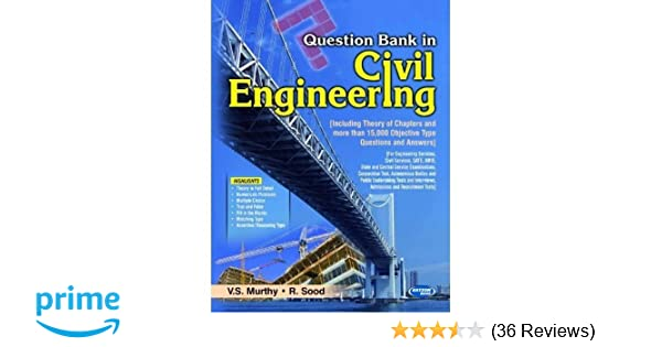 Buy Question Bank in Civil Engineering Book Online at Low
