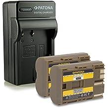 M&L Mobiles® | Novedad - 4in1 Cargador + 2x Batería como BP-511 BP511 con Infochip · 100% compatible con Canon Powershot G1 | G2 | G3 | G5 | G6 | Pro 90is | Pro 1 | Pro90 IS - Canon EOS D10 | D20 | D30 | D40 | D60 | 300D | 5D | 10D | 20D | 20Da | 30D | 40D | 50D - Canon FV40 | FV30 | FV100 - Canon Camcorder MV30 | MV30i | MV100Xi - Canon Optura 10 | 20 | 50MC | 100MC | 200MC | PI | Xi etc...