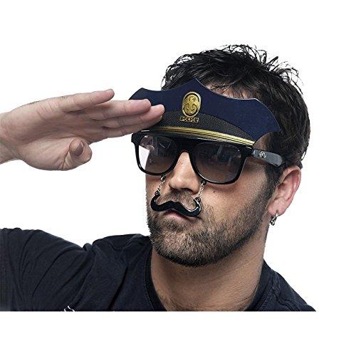 Limit Sport-Brille Polizei, Einheitsgröße (CM949)
