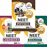 30 Years NEET Chapter-wise & Topic-wise Solved Papers (PCB) (2017 - 1988)SET OF 3 BOOKS