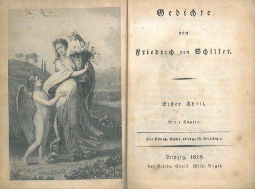 Gedichte von Friedrich von Schiller.