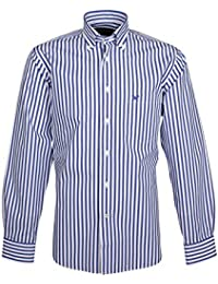 166003 Bots & Bots Exclusive Collection - Chemise Homme Coton Col Boutonnné Normal Fit