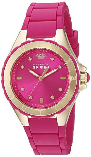 Juicy Couture Women's 1901412 Rio Analog Display Japanese Quartz Pink Watch