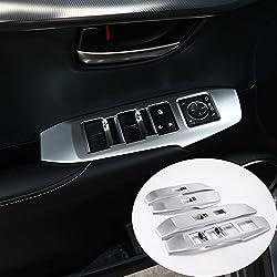 MAVMAX Autocollants pour Interrupteur de fenêtre en ABS chromé pour NX300h nx200t 2015 2016