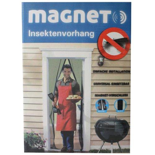 Türvorhang Insektenschutz magnetisch Insektenschutztür automatik