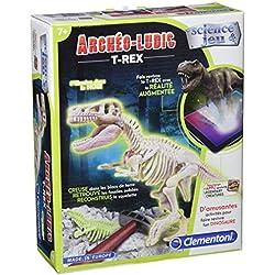 Clementoni 520688 - estatuilla dinosaurio - Tyrannosaurus fluorescente