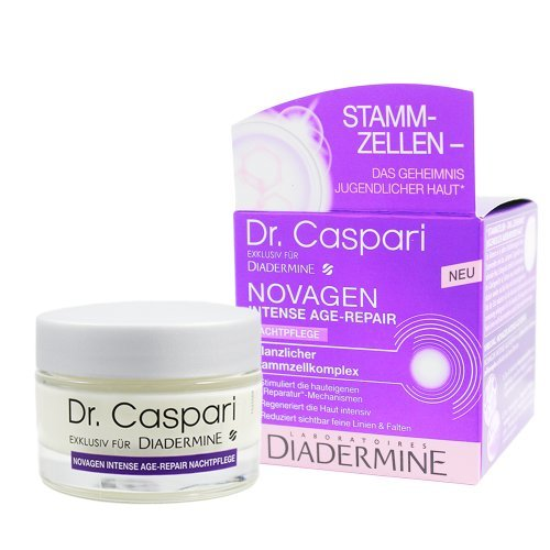 Diadermine Nachtcreme Novagen 50 ml Dr. Caspari, für einen sichtbar schönen und glatten Teint
