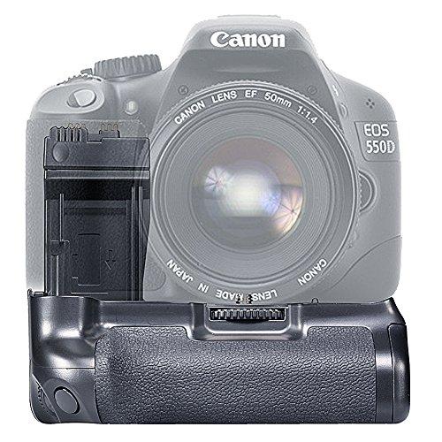 Neewer Pro Batteriegriff Akkugriff Battery Grip für Canon EOS 550D 600D 650D 700D / Rebel T2i T3i T4i T5i SLR Digital Kameras wie der Canon BG-E8, kompatibel mit 6 AA-Batterien oder 2 LP-E8 Li-Ionen-Batterien (Kamera Canon T3i Rebel)