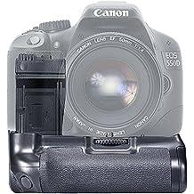 Neewer BG-E8 Empuñadura de Batería para Cámaras Réflex Canon EOS 550D 600D / Rebel T2i T3i T4i T5i SLR