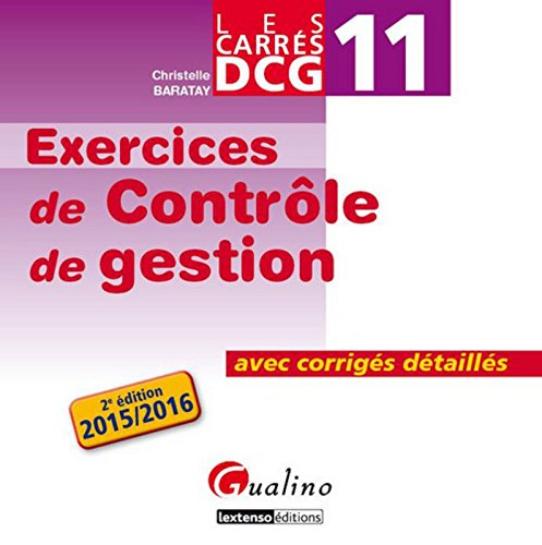 Carrés DCG 11 - Exercices corrigés Con...