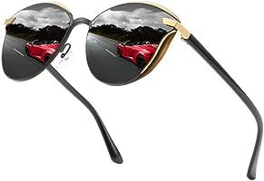 GRAFIT Classic Cat Eye Polarized Sunglasses For Womens Ultra Thin 100% UV Protection 400 for Women & Girls