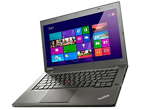Lenovo Notebook ThinkPad T440 Intel i5 1,9GHz 4GB 500GB Cam Windows10 Pro 1366 1H08 (Zertifiziert und Generalüberholt)