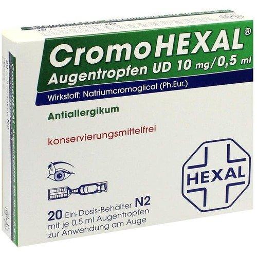 CromoHEXAL Augentropfen U 20 stk