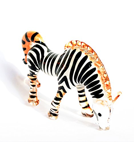 Zebra - Crystal decorative figure (- Crystal figures - Nº 2